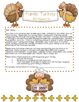 Family Turkey Project