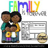 Family is Forever {Word Families Practice}