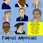 Famous Americans Clip Art Collection! Revere,Anthony,Dougl