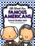 Famous Americans Unit {The Creative Classroom}
