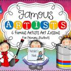 Famous Artists {6 Famous Artists Art Lessons}