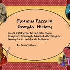 Famous Faces in Georgia History