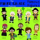 Famous Figures Set #1 {Digital Clip Art} Historical People