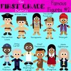 Famous Figures Set #2 {Digital Clip Art} Historical People