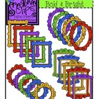 Fancy Frame Art: Bold and Bright {Creative Clips Digital Clipart}
