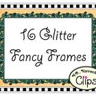Fancy Glitter Frames