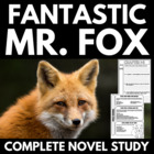 Fanstastic Mr. Fox - Complete 50 Page Novel Study Package!