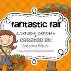 Fantastic Fall Literacy Centers