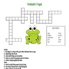 Fantastic Frogs Life Cycle Wordsearch