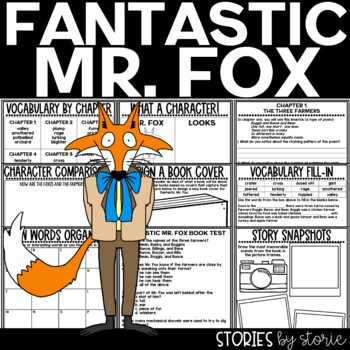 Fantastic Mr. Fox Book Questions & Vocabulary