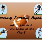 Fantasy Football Algebra