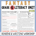 Fantasy Reading & Writing Unit: Grade 6...40 Lessons with CCSS!!