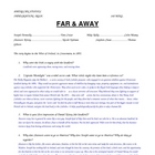 """Far & Away"" movie study guide & Answer Key"