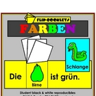 Farben (Color Flip Booklets in German)