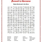 Farewell to Manzanar: 4 Book-Based Word Searches