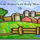 Farm Animal Baby and Mother match up ppt game