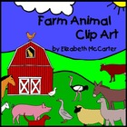 Animal Clip Art: Farm Animals