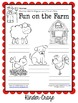 Farm Animal Labeling Worksheet - Great for Invented Spelling