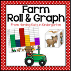 Farm Animal Roll & Graph Activity