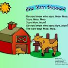 Farm Animal Smartboard Fun for kindergarten