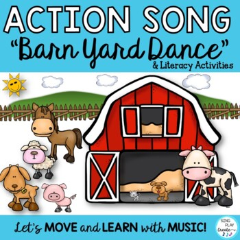 "Farm Animal Song* Posters* Literacy Printables* Movie"" ""Co"