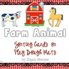 Farm Animal Sorting Cards