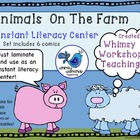 Instant Literacy Center (6 comics) Whimsy Workshop Teaching