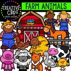 Farm Animals {Creative Clips Digital Clipart}