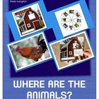 Farm Animals Emergent Reader With Interactive Wheel