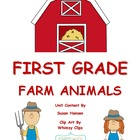 Farm Animals Reading and Comprehension Activities