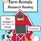 Farm Animals Research Reading