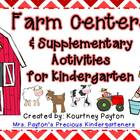 Farm Centers & Supplementary Activities For Kindergarten