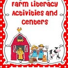 Farm Fun Literacy Centers and Activities