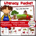 Farm Classic- Little Red Hen Singable &amp; MORE! {Common Core