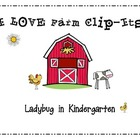 Farm Clip-It for Math and Beginning Sounds
