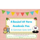Farm Common Core Academic Fun
