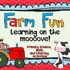 Farm Fun- Learning on the mooove