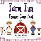 Farm Fun Phonics Game Pack