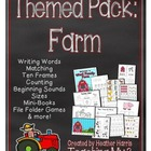 Farm Kindergarten Pack