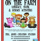 Farm Literacy, Math and Science Activities
