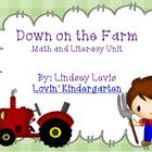 Farm Math and Literacy Unit