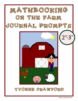 Farm Mathbooking - Math Journal Prompts (2nd and 3rd grade)