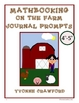 Farm Mathbooking - Math Journal Prompts (4th and 5th grade)