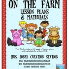 Farm &amp; More...Lesson Plans and Materials