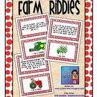 Farm Riddles Card Set