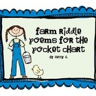 Farm Riddles for the Pocket Chart