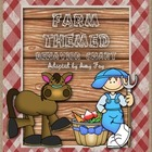 Farm Themed Behavior Chart