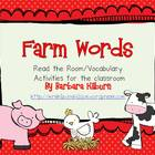 Farm Words {Vocabulary/Read the Room Activity}