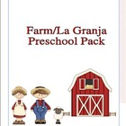 Farm/La Granja Preschool Pack