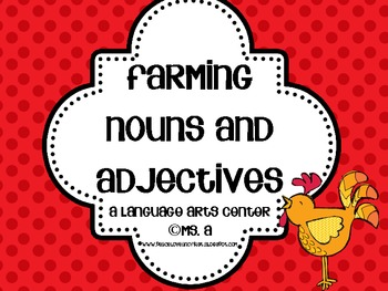 Farming Nouns and Adjectives